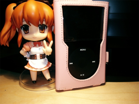 Mikuru is a model for iPod covers.